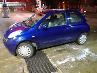 CHEAPEST NEW MODEL MICRA ON THE NET! PERFECT 1ST CAR! BARGAIN ONLY £550 STRICTLY NO OFFERS!
