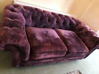 Roll back sofa