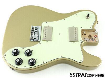2020 Fender Chris Shiflett Deluxe Telecaster LOADED BODY Tele Shoreline Gold