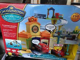 Chugginton rail set bnib
