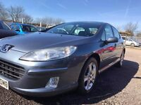 peugeot 407 2.0 HDI 2007 (56 plate) New tyres, Service history, New flywheel, New clutch,