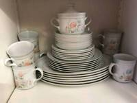 Denby Dauphine Dinner Set. Immaculate