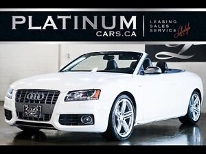 2010 Audi S5 3.0T Cabriolet, AWD,