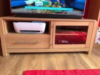 Oak tv Stand unit