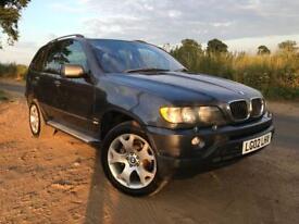 BMW X5 sport auto 3.0 diesel 2002 145,000 Miles Service history up to 90,000 Miles Start run