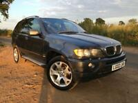 BMW X5 sport auto 3.0 diesel 2002 145,000 Miles Service history up to 90,000 Miles Start run