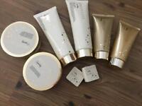 New grace Cole set - bath caviar, scrub, lotions, creams, bath fizzers