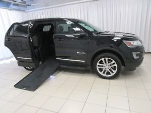 2017 Ford Explorer XLT BRAUN ABILITY WHEELCHAIR ACCESSIBLE w/POW