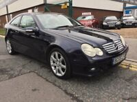 MERCEDES C220 CDI COUPE 55 PLATE FULL PANORAMIC ELECTRIC SUNROOF