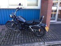Senis cruise star motorcycle