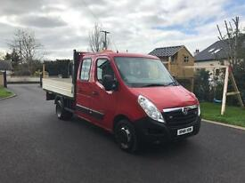 Vauxhall movano pick up