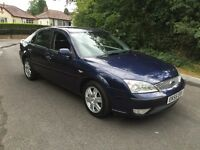 FORD MONDEO 2.0 TDCI GHIA,7 MONTHS MOT,FULL SERVICE HISTORY,LOW MILEAGE.
