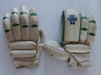 Gunn & Moore Youth RH Cricket Batting Gloves (Used)