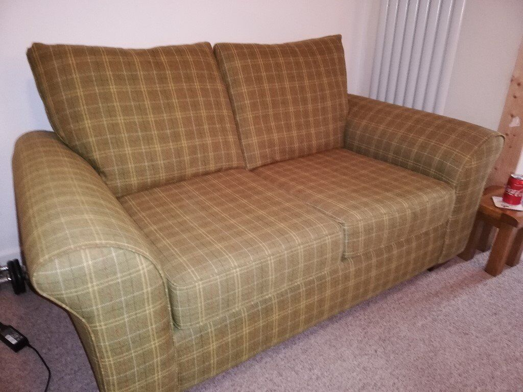 Perfect 2 Seater Next Cloth Settee In Need Of A New