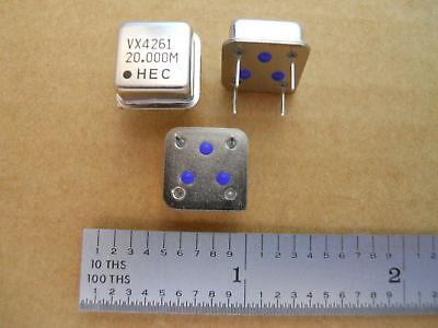 Hec Inc 20.000mhz 20mhz 20m Crystal Clock Oscillator Xtal Vx4261-20.000m 10pcs