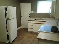 newly updated 1 bedroom basement suite