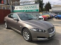 Jaguar XF 2.2 TD Luxury 4dr£10,500 p/x welcome FINANCE AVAILABLE . NEW MOT