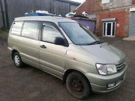 1996 TOYOTA TOWNACE NOAH 2.2 TD AUTOMATIC 8 SEATER GREEN 12 MONTHS M.O.T