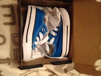 Infant size 3 converse new in box