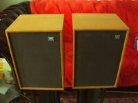 Vintage Wharfedale Denton 2XP Speakers