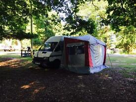 Renault Traffic 2 berth with awning Campervan
