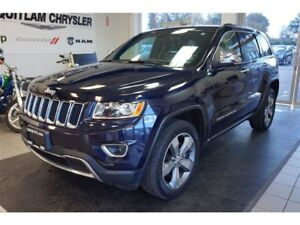 2015 Jeep Grand Cherokee Limited- SUNROOF, ALLOY WHEEL, LEATHER!