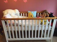Brilliant condition children's cot and nursery furniture