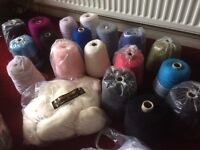 Mohair / Aran Knitting machine Wool or Hand Knitting wool for sale