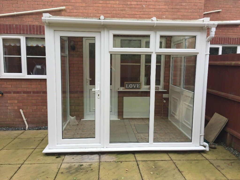 Lean To Conservatory Measuring 9ftx6ft Double Glazed Buyer