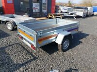 BRAND NEW 7X4 TRAILER- BOX TRAILER- CAMPING TRAILER FLAT TIPPING FEATURE