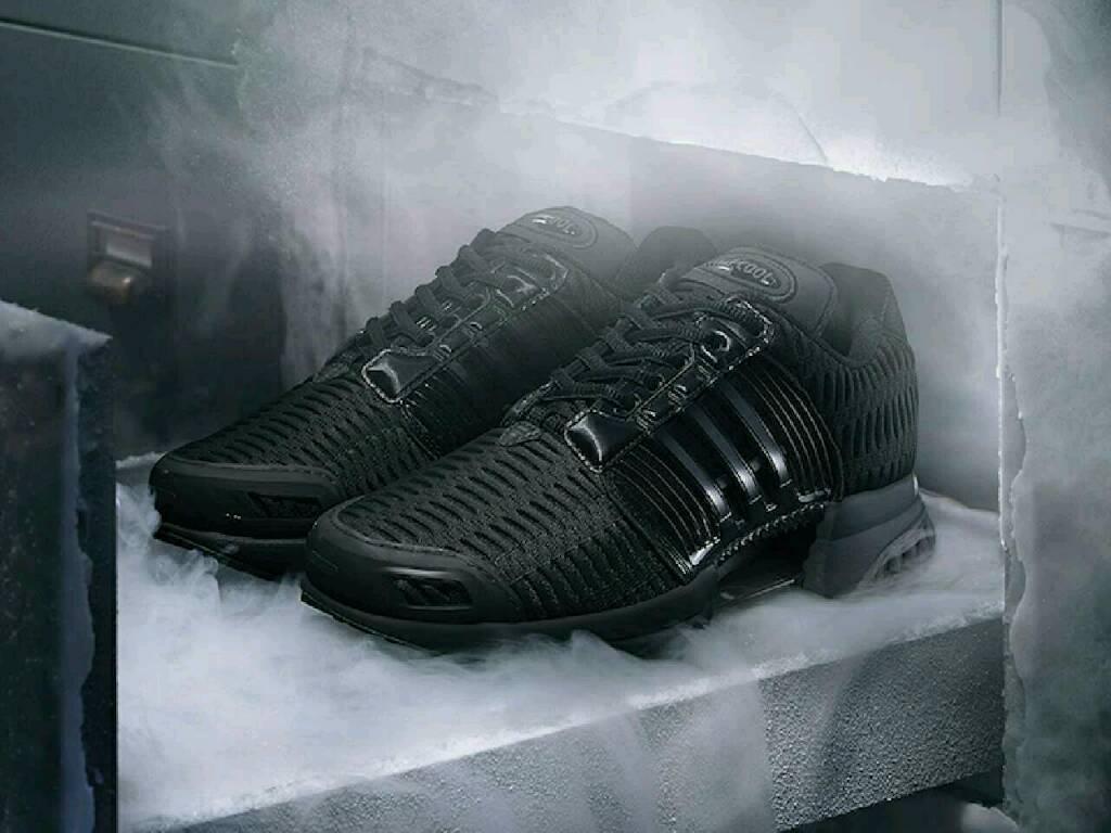 Adidas ClimaCool Black Size 8 UK not Nike Puma Reebok Clima Cool Running Trainers.