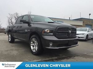 2017 Ram 1500 NEW, 0% AVAIL, SPORT, RAMBOX, AIR SUS.