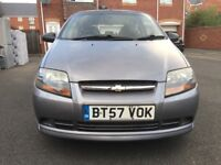 Chevrolet Kalos 1.2 Manual, 59k Mileage, 1 Previous Keeper. Drives Greatly