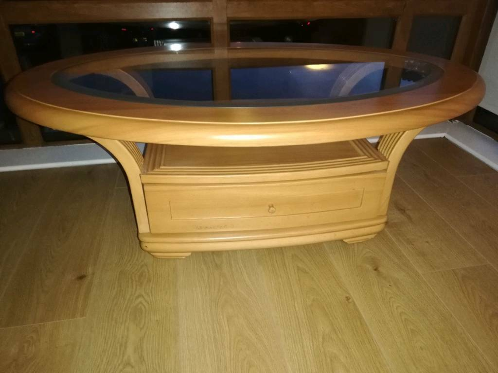 Solid Glass Top Coffee Table Northern Ireland 30 00