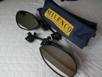 Milenco Aero Caravan Towing Mirrors Convex