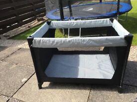 Hauck travel cot + mattress for sale