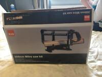 B&Q mitre saw - unused in box