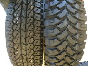 COMFORSER & GINELL MUD TIRES / ALL SEASON / ALL TERRAIN / TRUCK + CAR + SUV TIRES - LOWEST PRICE, FULLY WARRANTIED