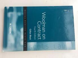 Woolman on Contract 4th edition Gillian Black