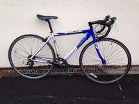 Apollo TDF02 54cm 700c wheel Road Bike Blue 14spd