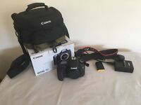 Canon EOS 7D Mint Condition, Canon Camera Bag, 16 GB CF Card, Shutter Count 3654