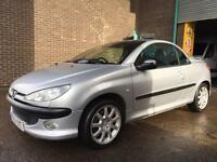 PEUGEOT 206cc FULL LEATHER FANTASTIC CAR