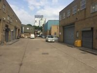 Affordable meanwhile industrial space opportunity for makers and menders, near the Old Kent Road.