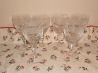 Royal Brierley cut glass set
