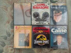 6 Audio books on Cassette