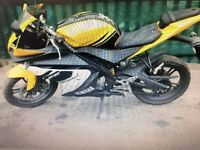 YAMAHA 125 CC 2008******lots of new parts**********