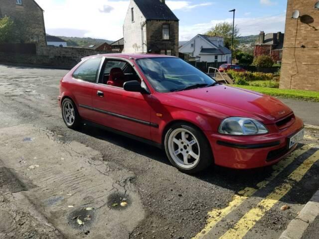 Honda civic ej9/ek9 b16 swap engine modified | in Sheffield, South  Yorkshire | Gumtree
