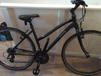 Mint condition MARIN hybrid ladies bike and accessories