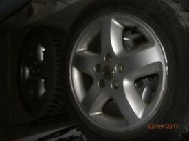 16 inch 4x wheels rims tyres vauxhall vectra c fits omega and other cars