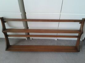 Ercol plate racks/shelving